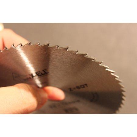 LAMINATED POSTER Cutting Circular Round Saw Metal Blade Rotation Poster Print 11 x (Best Blade For Cutting Laminate)