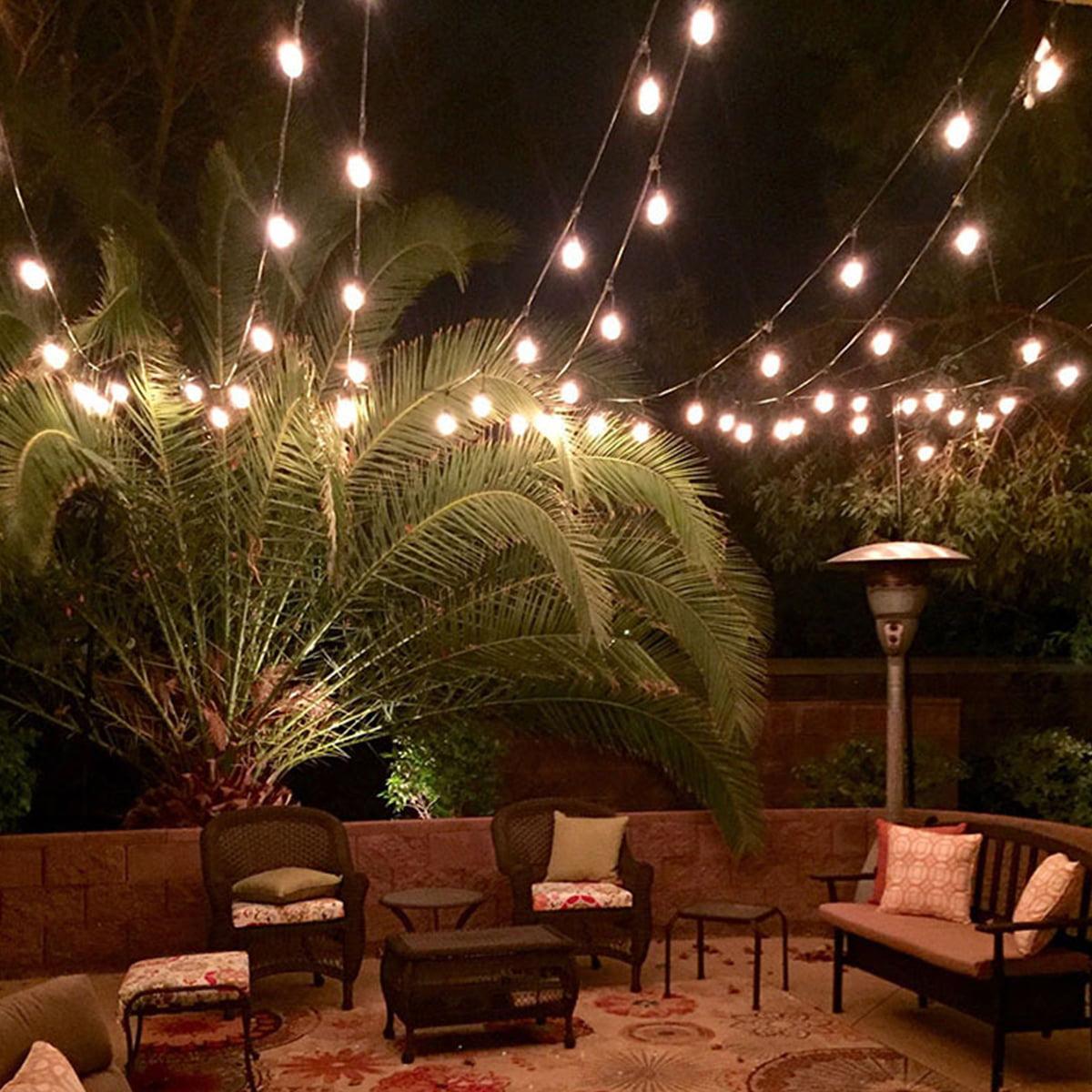 Patio Globe String Lights Bulbs