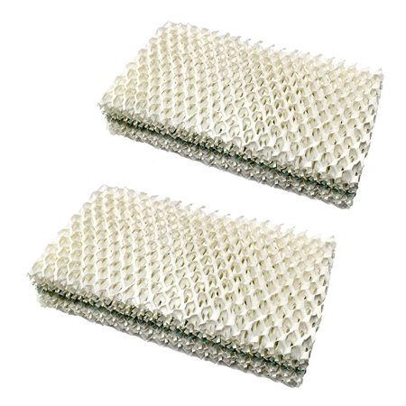 HQRP 2-pack Humidifier Wick Filter for Emerson HD1205 HD12050 HD1211 HD12110 HD12111 HD2412 HD24120 HD24121 MoistAIR