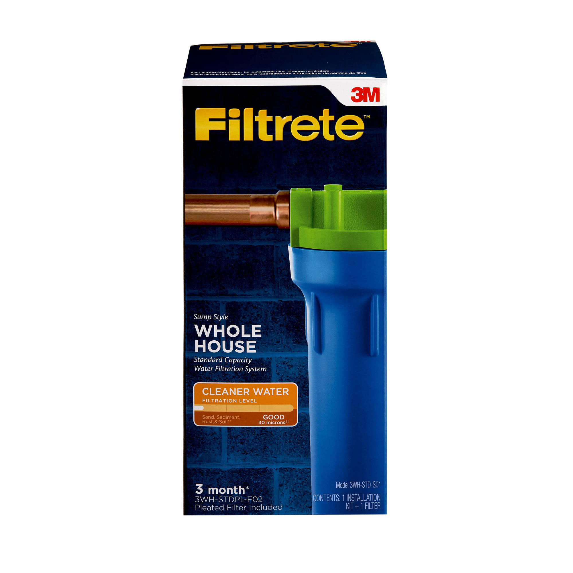 3M Filtrete Whole House Sump Filter System, Basic