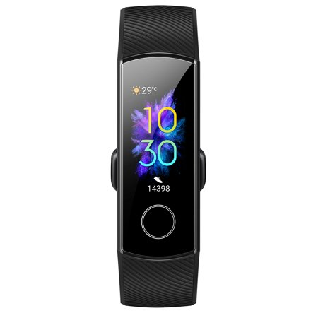 Huawei Honor Band 5 Smart Watch Bluetooth 4.2 Huawei TruSleep Tracking Phone Locate Heart Rate Monitoring Multiple Sports Modes (Bluetooth Low Energy Heart Rate Monitor Chest Strap)
