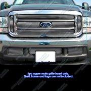 Fits 99-04 Ford F250/F350/F450/ F550 Billet Grille Insert