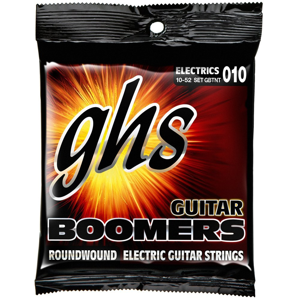 GBTNT Guitar Boomers, Nickel-Plated Electric Guitar Strings, Thin & Thick (.010-.052),... by