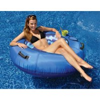 "Sumo Fabric Covered Sport Tube 48"" Inflatable Pool Lounge"