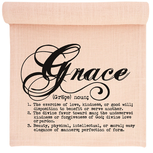 TheWatsonShop Grace Burlap Table Runner