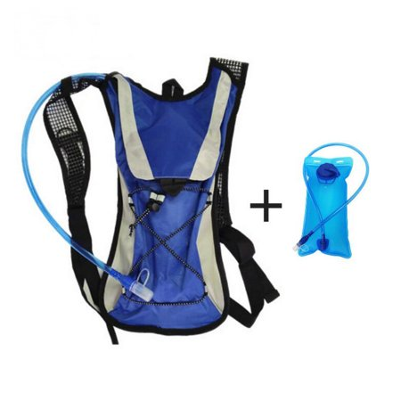 Lightahead 2L Hydration Backpack with Water Rucksack Bladder Bag for Running Hiking Cycling Camping