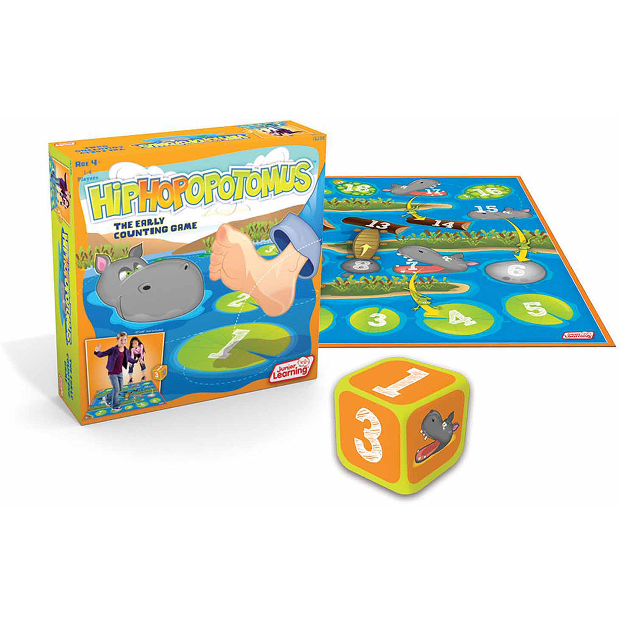 Junior Learning Hiphopopotamus, The Early Counting Game!