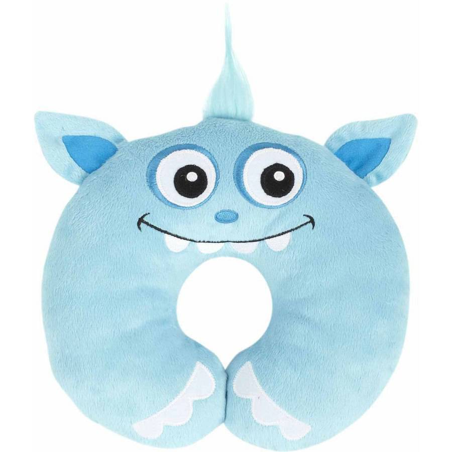 Nuby Monster Neck Support, Blue by Nuby
