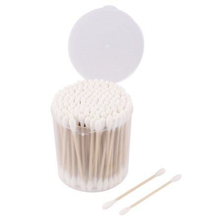 Ear Cotton Swabs Makeup Cotton Tips Buds Double End 150 (Double Ended Swab)