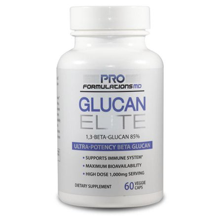 Ultra Elite Digest - Glucan Elite – 85% Beta 1,3D Glucan 500mg - 60 vcaps | 85% Minimum Active 1,3 Linkage Ultra-Potency Beta Glucan – Highest Bioavailability with BGF-Immune