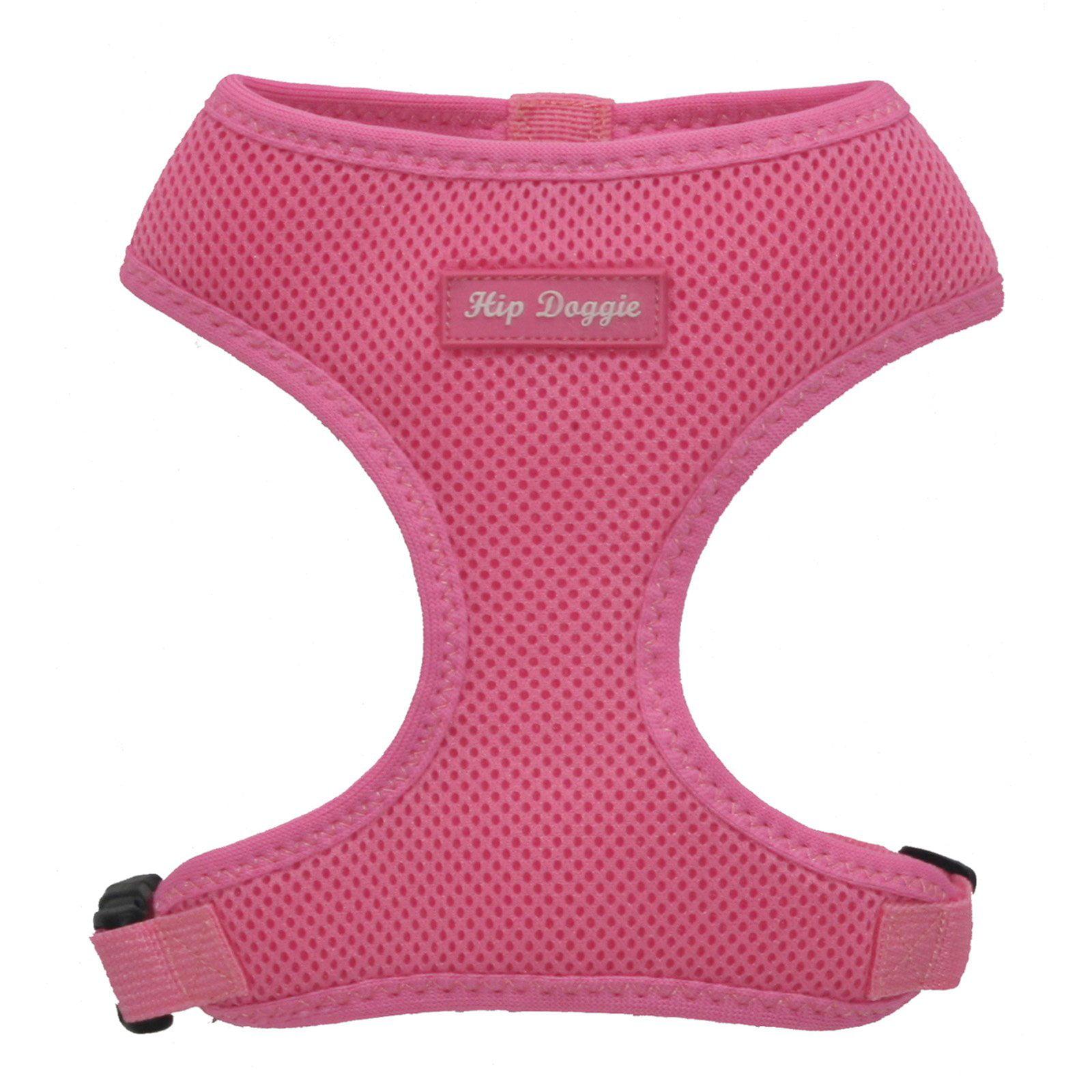 Hip Doggie Ultra Comfort Pink Mesh Harness Vest