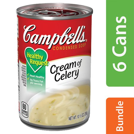 Campbells Healthy Request Cream Of Celery Soup, 10.5 oz (6 (Campbells Cream Of Celery Soup)