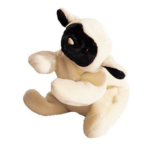 TY Beanie Baby - CHOPS the Lamb (4th Gen hang tag) (7.5 inch)