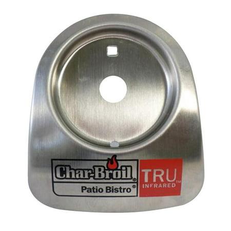 Infrared Temperature Gauge - Char Broil Patio Bistro Bezel With Logo For Temperature Gauge Tru-Infrared -