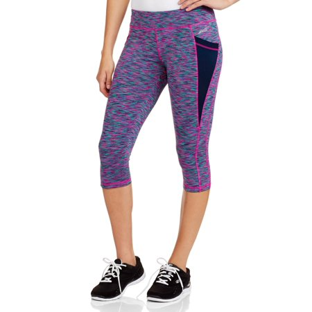 de8ded0bad03d Avia - Avia Women's Active Performance Capri Pa - Walmart.com