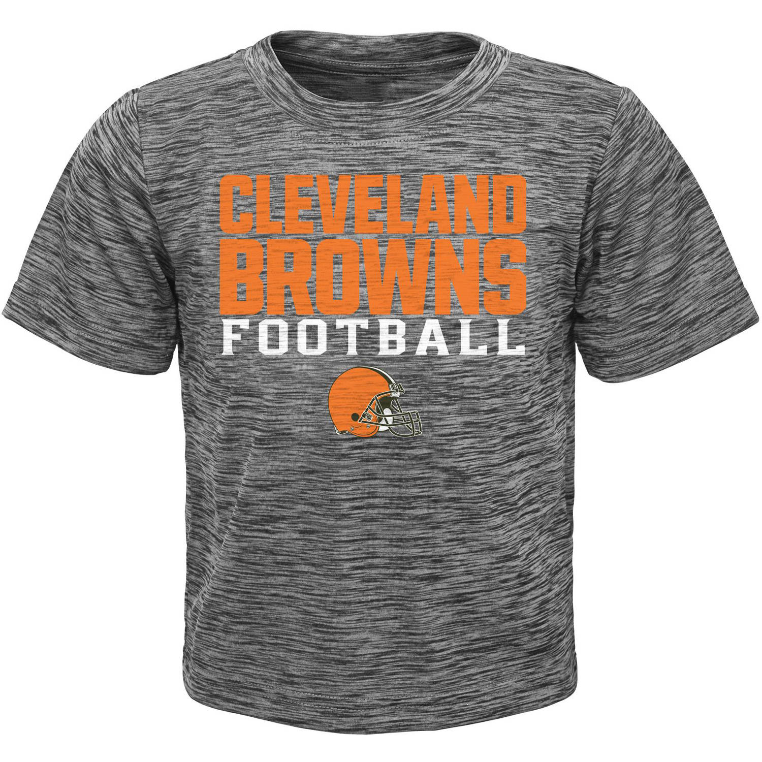 NFL Boys' Cleveland Browns Short Sleeve Poly Team Tee