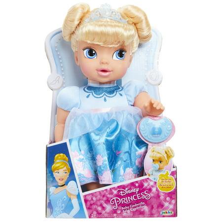 DELUXE BABY ASST - Baby Princess Cinderella