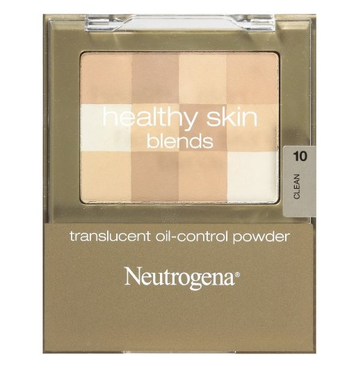 Neutrogena Healthy Skin Translucent Oil-Control Powder, Clean 10, 0.2 Ounce
