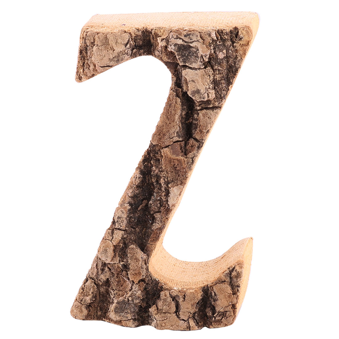 Family Street Wood Z Shaped Retro Style Door Plate Letter Label Sign Wall Decor