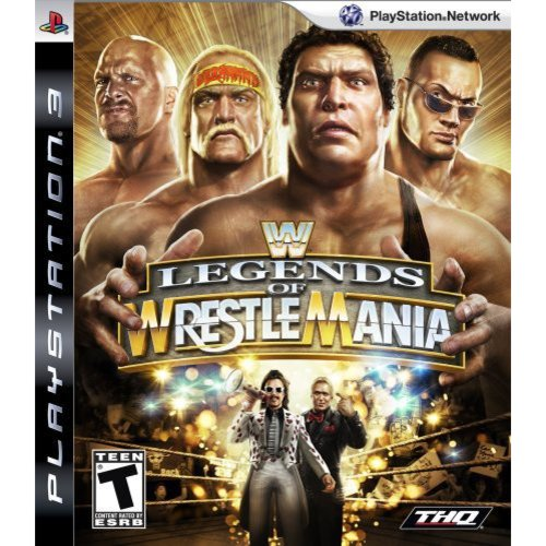 WWE Legends of Wrestle Mania (PS3)