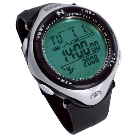 Pyle Outdoor Watch With Altimeter, Compass, Stop Watch, Barometer, And Perpetual Calendar
