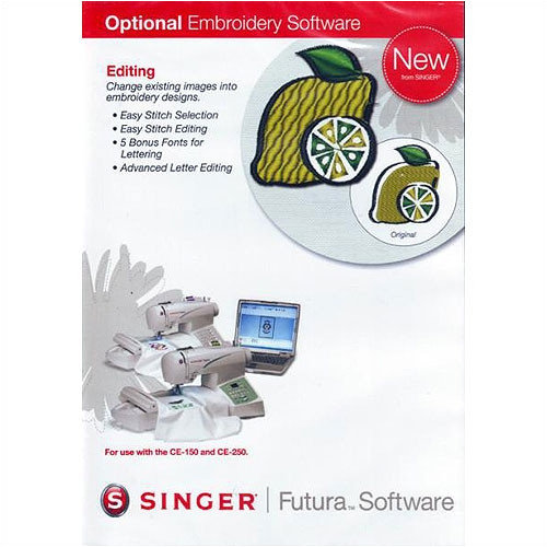 Singer Futura Editing Software Upgrade