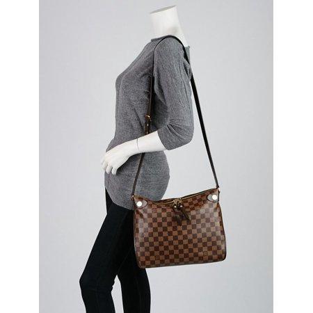 eb6094f3c5f60 Louis Vuitton - Louis Vuitton Duomo 906lk12 Damier Ebene Cross Body Bag -  Walmart.com