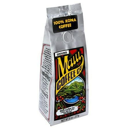 Maui Coffee Company 100% Kona Coffee Ground, 7 Ounce