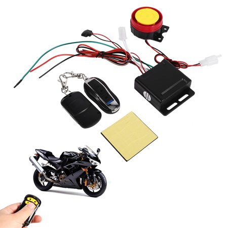 HURRISE Motorcycle Bike Anti-theft Security Alarm System Remote Control