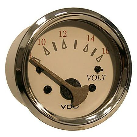 Vdo 18148033 Allentare White/grey Voltmeter - 8-16v