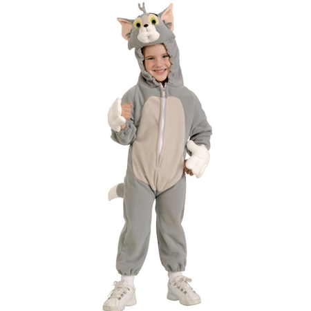 DELUXE TOM Costume -  GREY   SML 4-6 fits 3-5 yrs