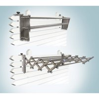 Indoor/Outdoor Foldable Drying Rack with Optional Wall-Mount