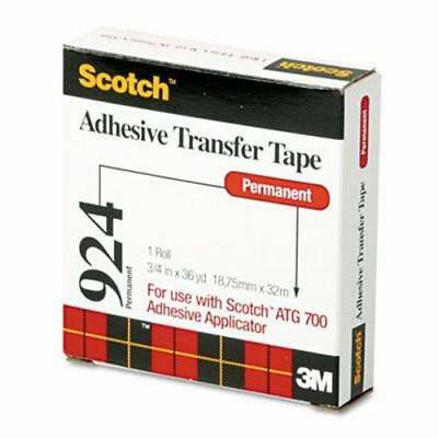 Scotch Adhesive Transfer Tape Roll, 3/4 Wide x 36 Yards Scotch Adhesive Transfer