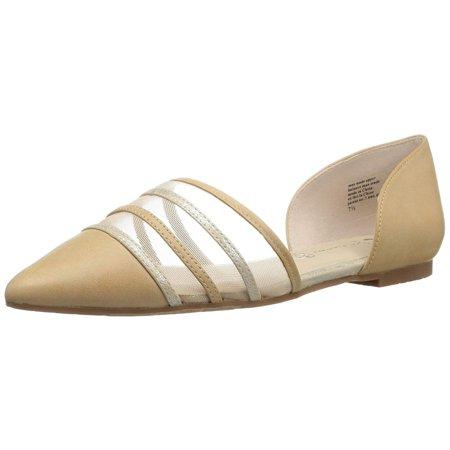 Bc Footwear Women's Wait A Minute Pointed Toe Flat, Vacchetta, Size 6.0
