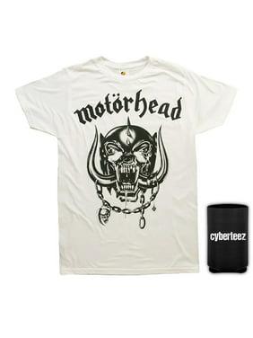 e070616c Product Image Motorhead T-Shirt Warpig England White T-Shirt + Coolie (S).  Cyberteez