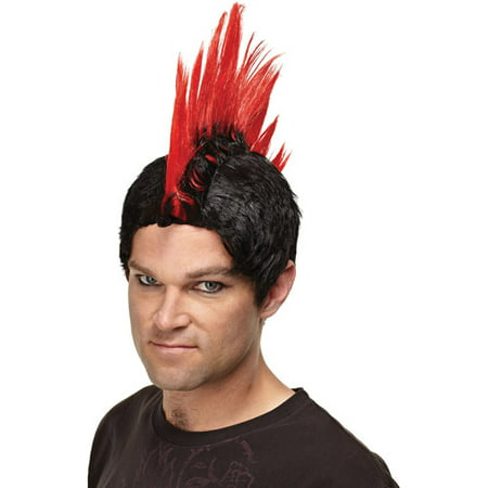 Punk Rocker Adult Halloween Wig