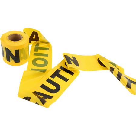 Hyper Tough 300-Foot Tear Resistant Caution Tape, 6016