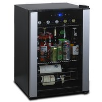 Wine Enthusiast Evolution Series Compact Wine & Beverage Center, Stainless Steel