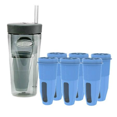 Zero Water 26 Ounce Portable Tumbler Bottle Amp 6