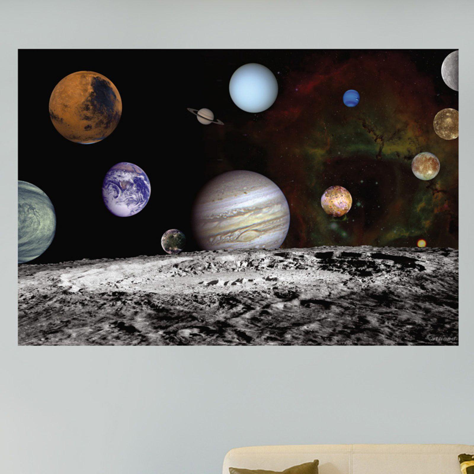 Fathead NASA Solar System Self-Adhesive Wall Decal