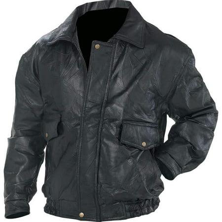 NapolineTM Roman RockTM Design Genuine Leather Jacket []](Leather Greaser Jacket)