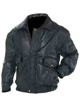 NapolineTM Roman RockTM Design Genuine Leather Jacket []
