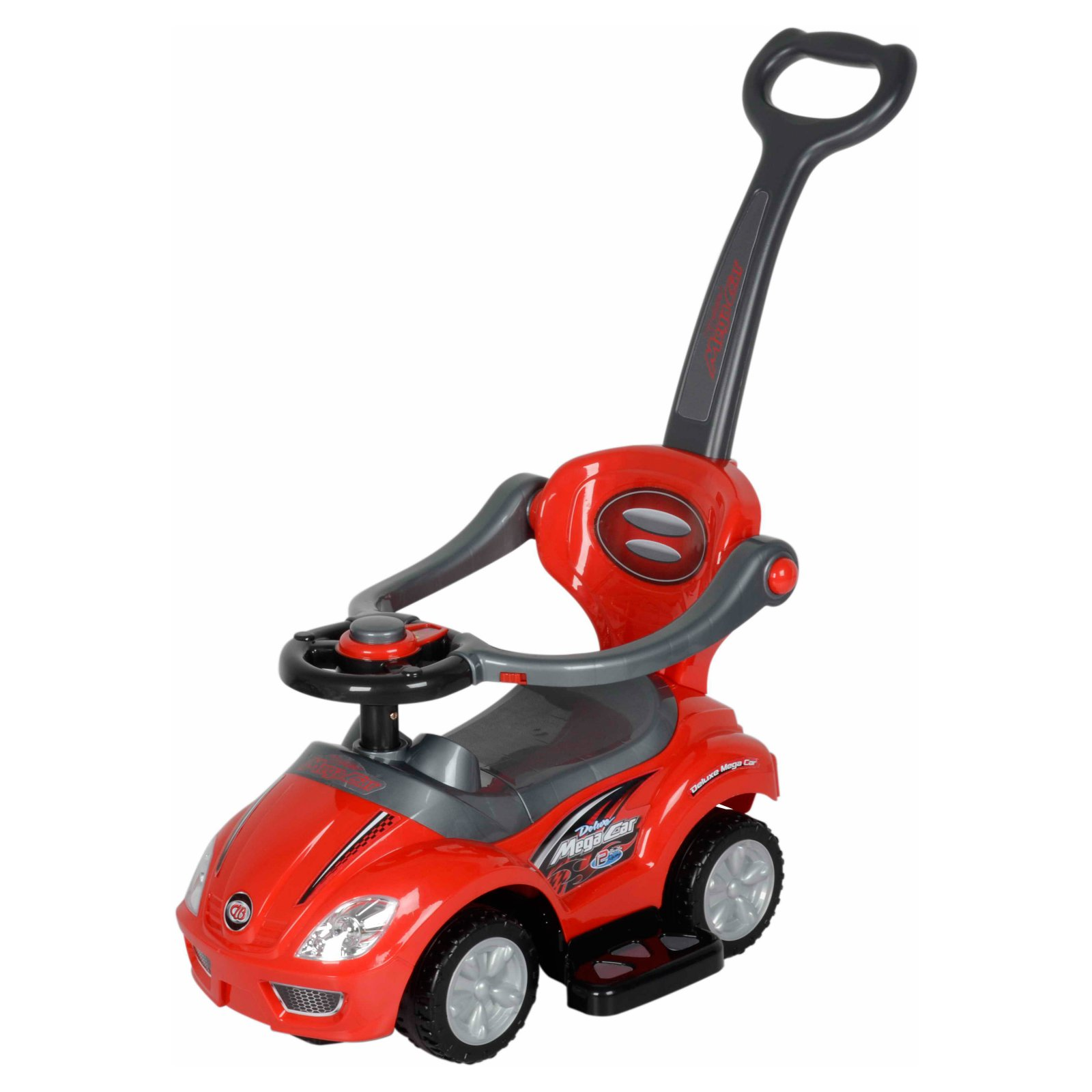 Best Ride On Cars 3 in 1 Riding Push Toy - Red
