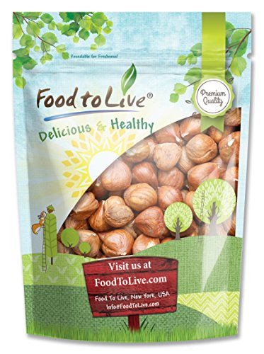 Food To Live Hazelnuts   Filberts (Raw, No Shell) (4 Pounds) by Food To Live