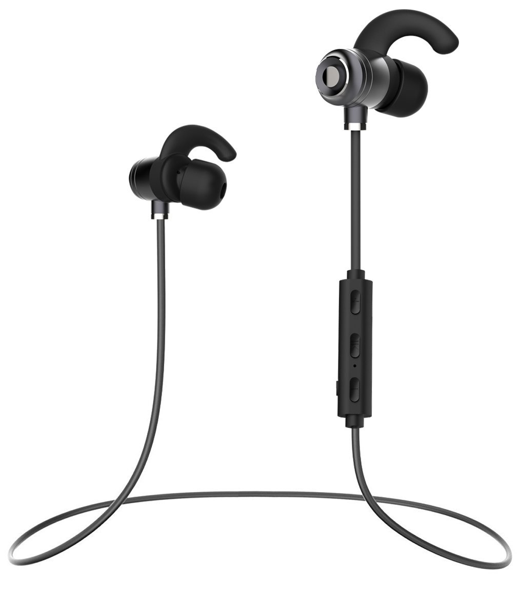Huawei P8max Bluetooth Headset In-Ear Running Earbuds IPX4 Waterproof with Mic Stereo Earphones works with Apple CVC 6.0 Noise Cancellation Samsung,Google Pixel,LG