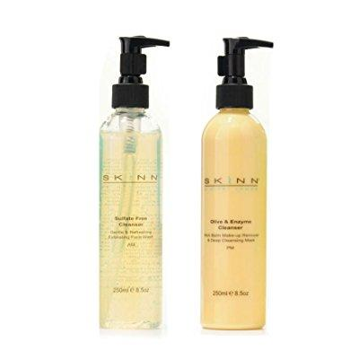 Skinn cosmetics supersize cleansing system - 8.5 oz one e...