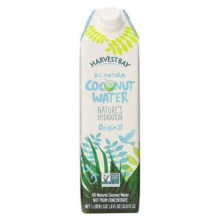 Harvest Bay All Natural Coconut Water Original 1 Liter Cartons   Pack Of 12