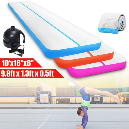 Inflatable Practice Training Mat Gymnastics Yoga Air Balance Beam Air Tumbling Track GYM Exercise Cushion For Home (Low Beam Cb Track)