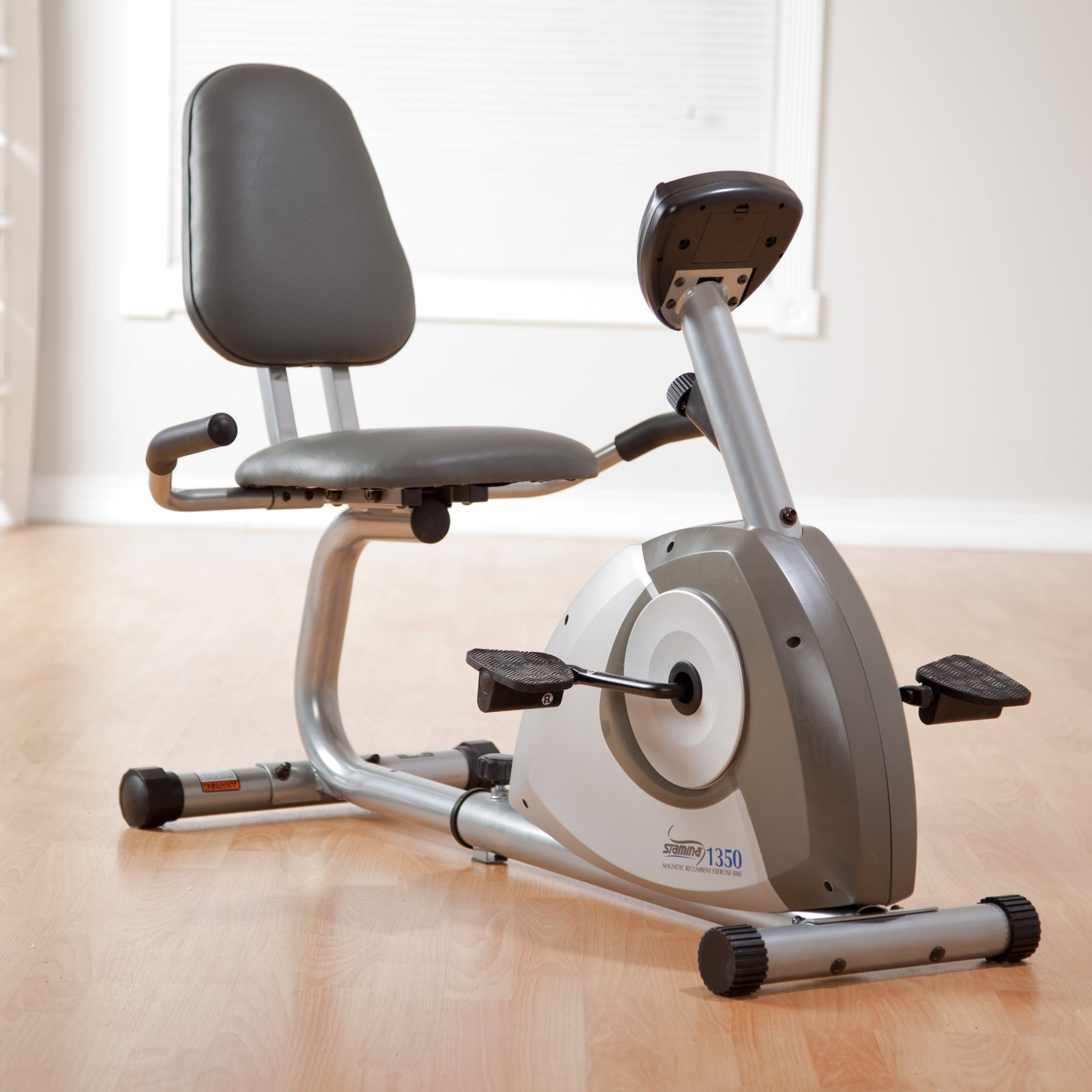 Stamina 1350 Magnetic Recumbent Exercise Bike