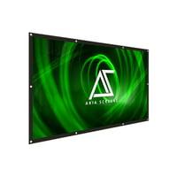 Elite Screens Akia DIY 8K/4K Ultra HD 3D Ready Indoor/Outdoor White 120'' Portable Projector Screen
